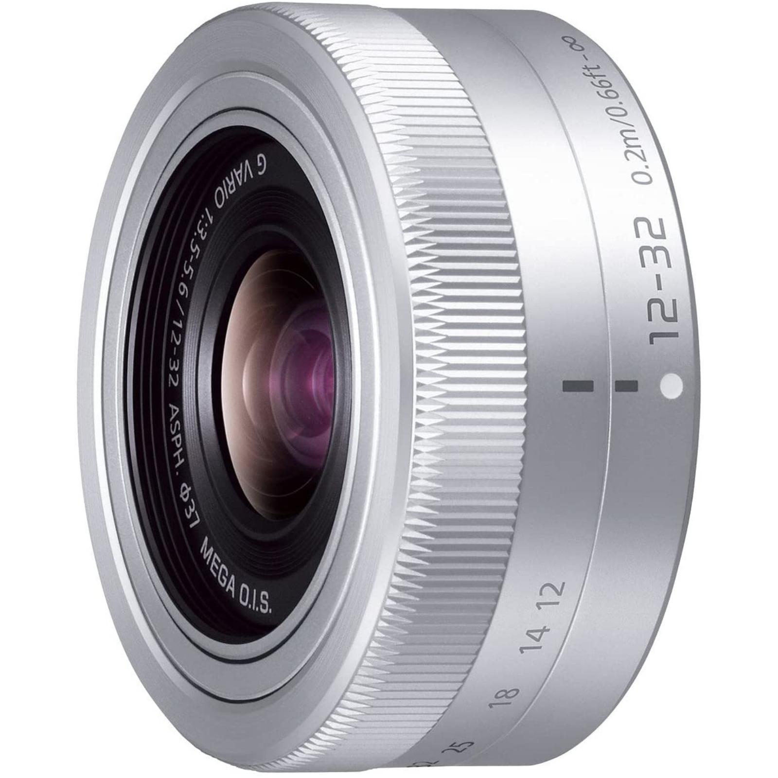 Panasonic パナソニック 標準ズームレンズ  G VARIO 12-32mm/F3.5-5.6 ASPH./MEGA O.I.S. シルバー 新品 (簡易箱)