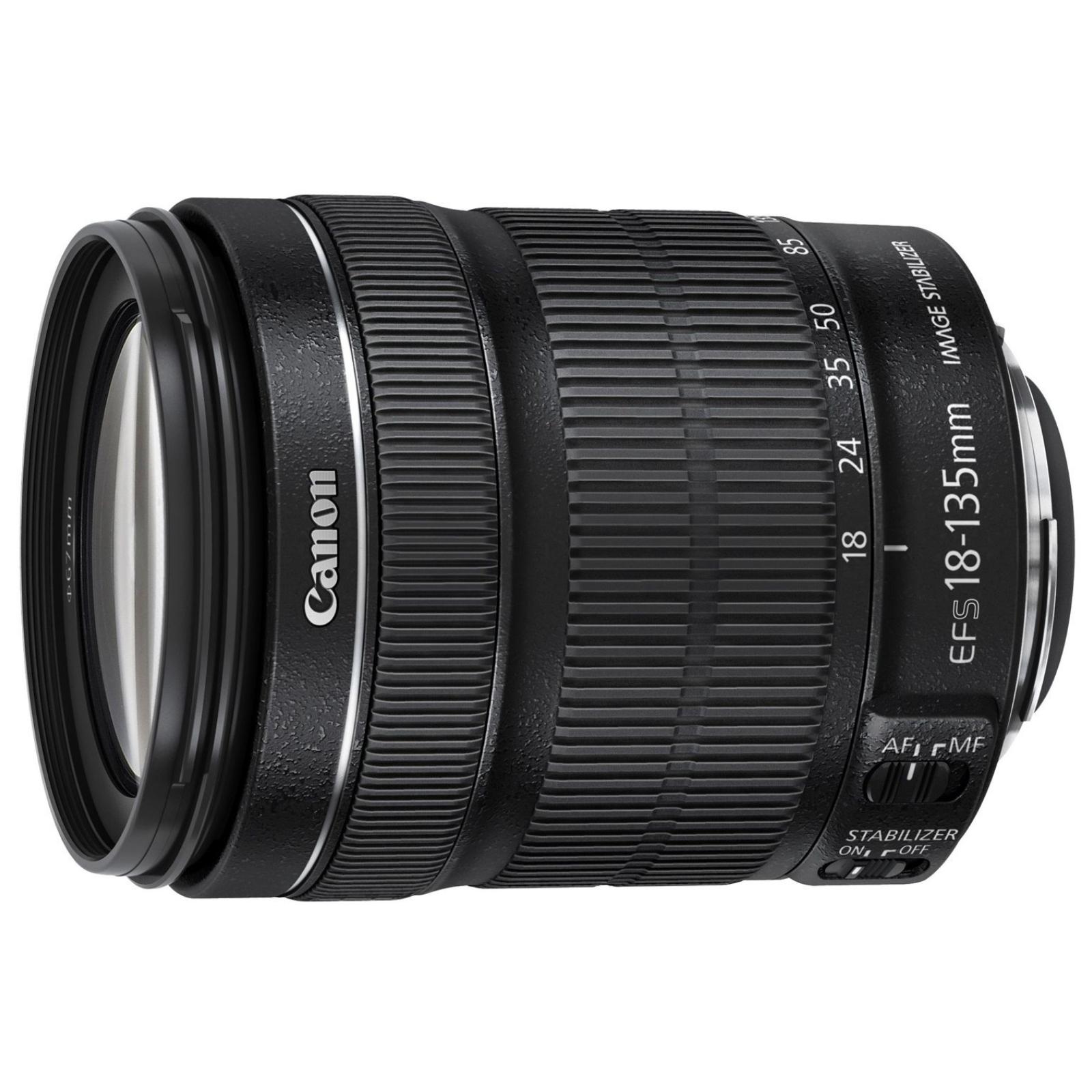 Canon キヤノン 標準ズームレンズ EF-S18-135 F3.5-5.6 IS USM ブラック 新品 (並行輸入品、保証付き、簡易箱)