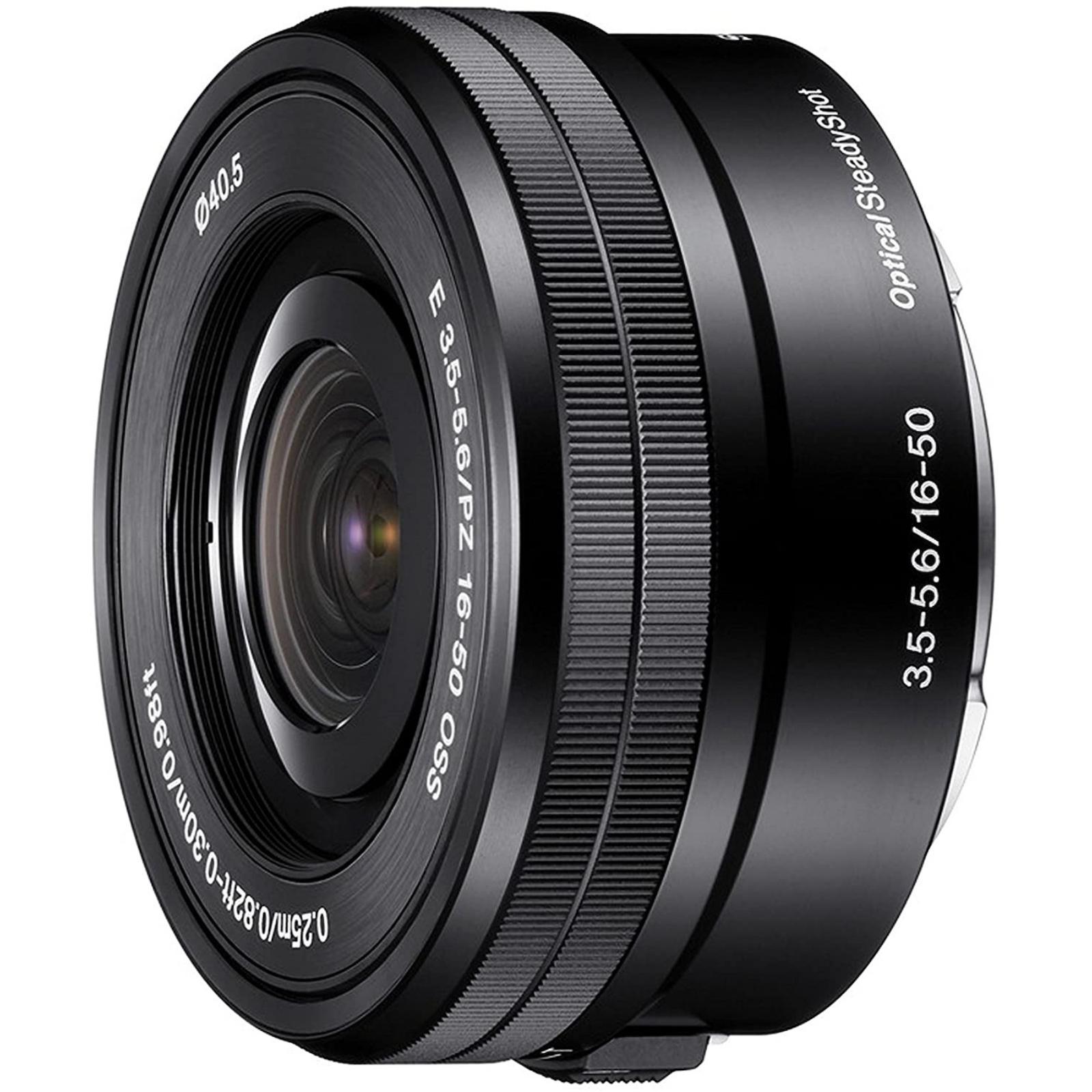 SONY ソニー 標準ズームレンズ E PZ 16-50mm F3.5-5.6 OSS ブラック SELP1650 Eマウント 新品 (簡易箱)
