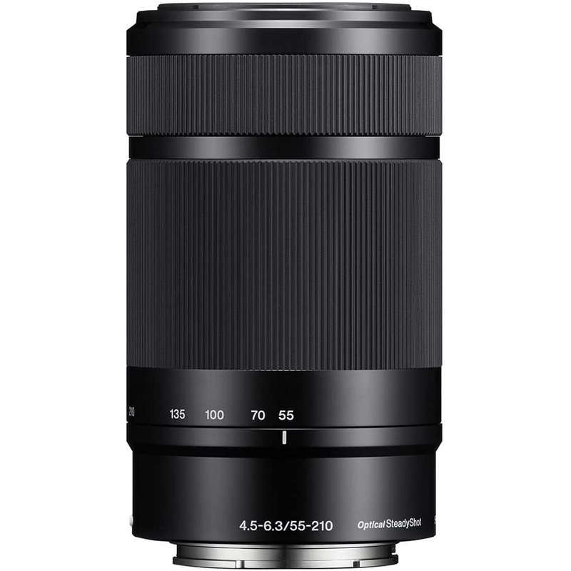 SONY ソニー 望遠レンズ E 55-210mm F4.5-6.3 OSS ブラック SEL55210 APS-Cフォーマット専用 新品 (簡易箱)