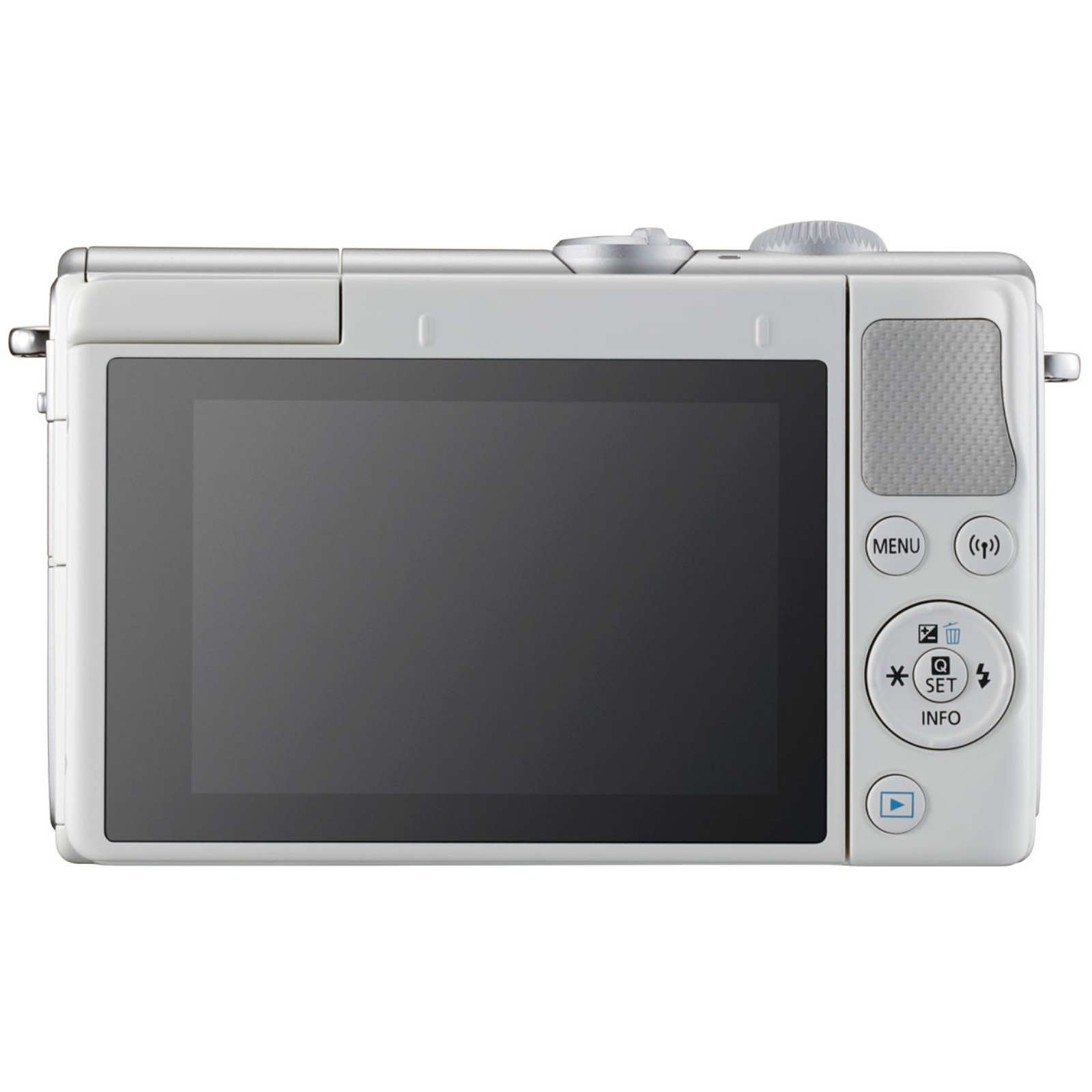 Canon キヤノン ミラーレス一眼カメラ EOS M100 ボディ ホワイト 新品
