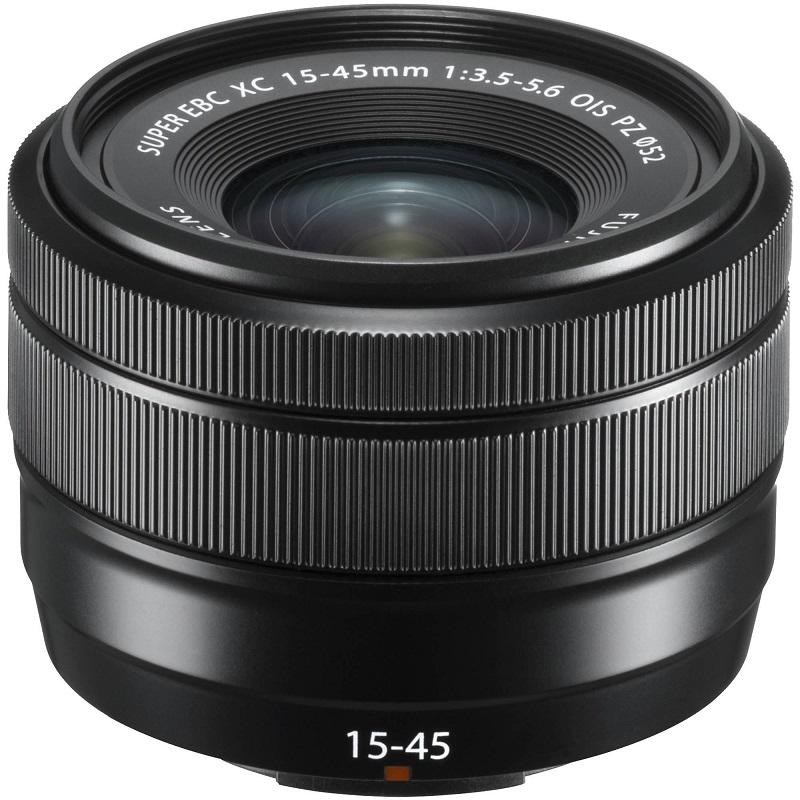 FUJIFILM 富士フィルム フジノンレンズ XC15-45mm F3.5-5.6 OIS PZ ブラック 新品 (簡易箱)