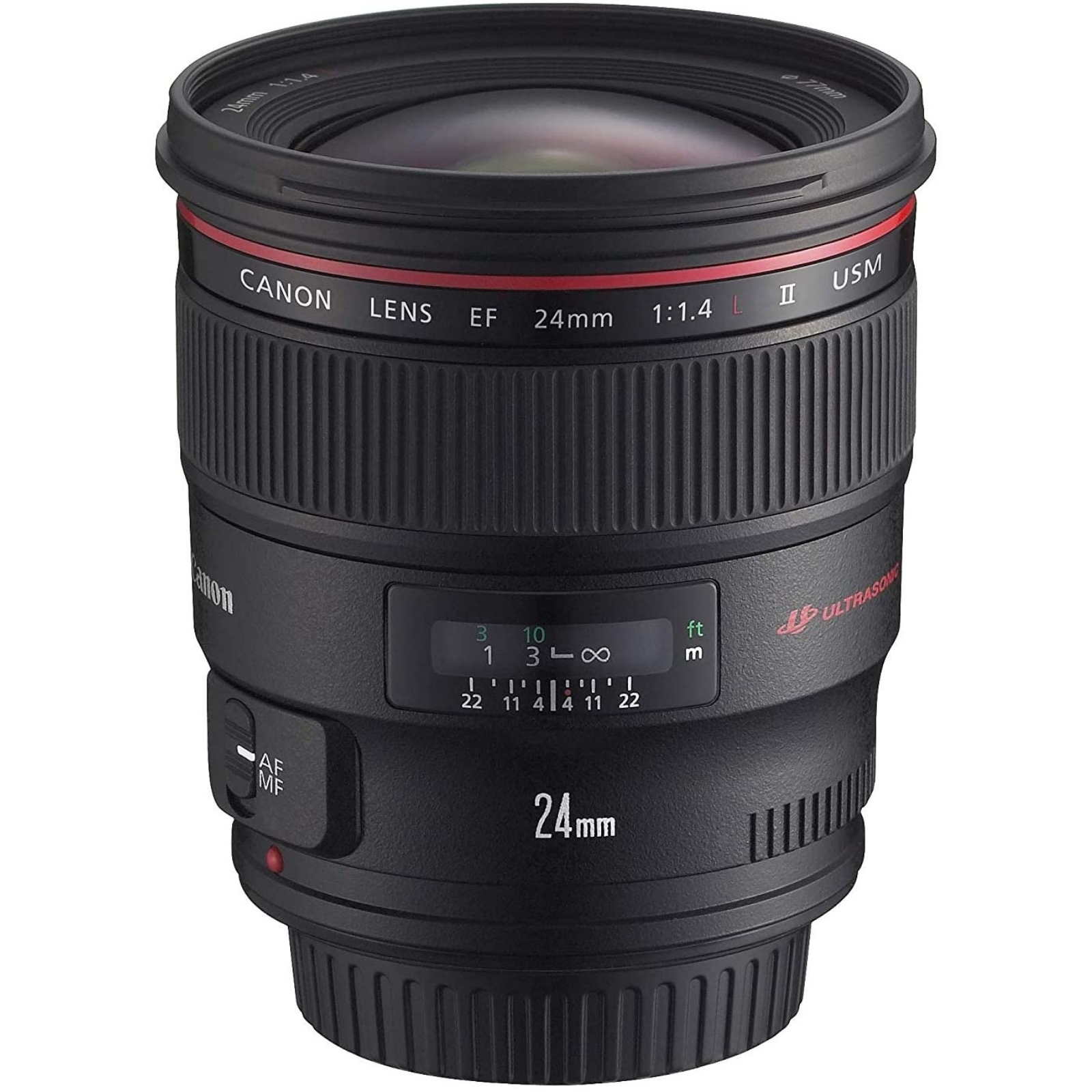 Canon キヤノン 単焦点広角レンズ EF24mm F1.4L II USM ブラック EF2414L2 新品 (並行輸入品、保証付き)