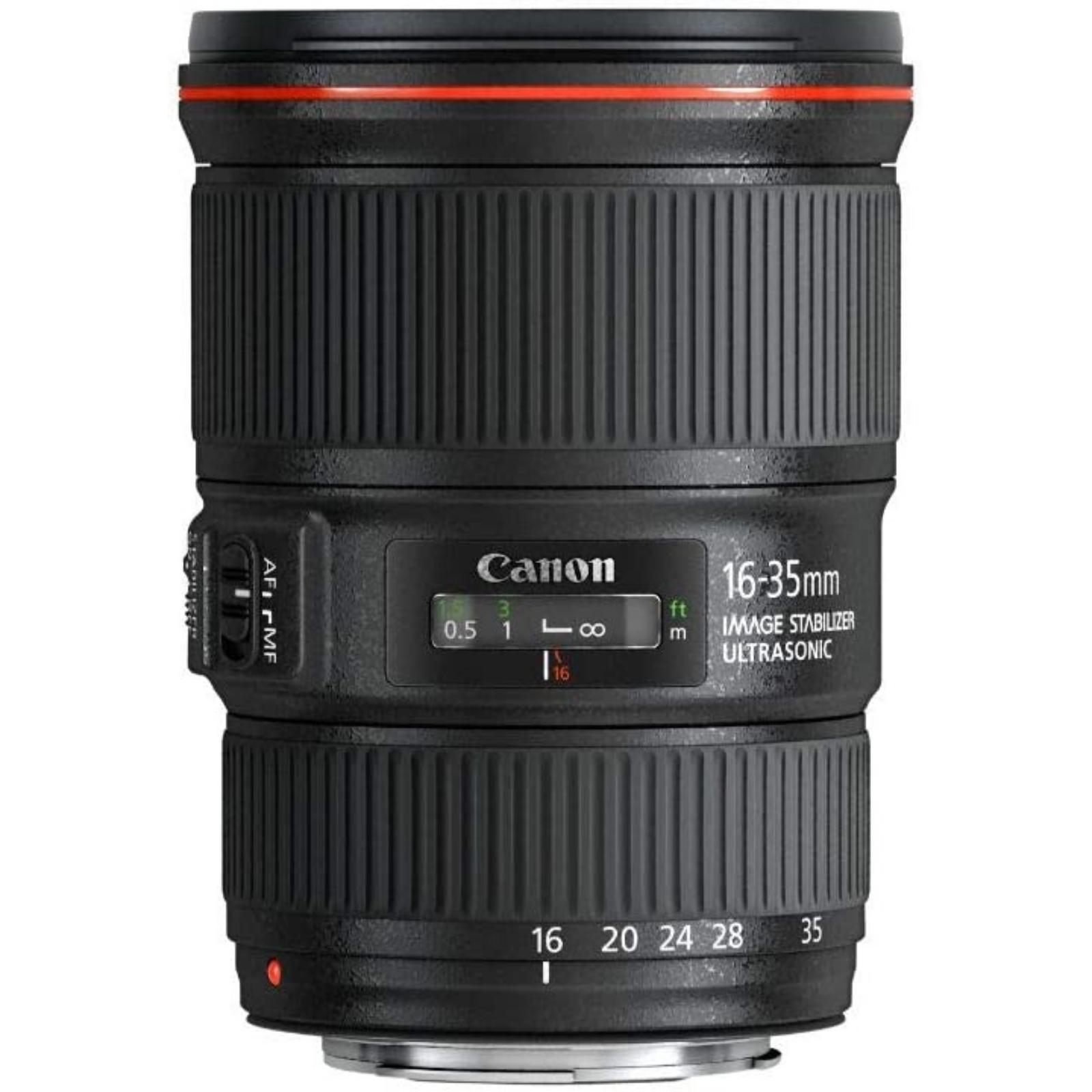 Canon キヤノン 広角ズームレンズ EF16-35mm F4L IS USM ブラック EF16-3540LIS 新品 (並行輸入品、保証付き)