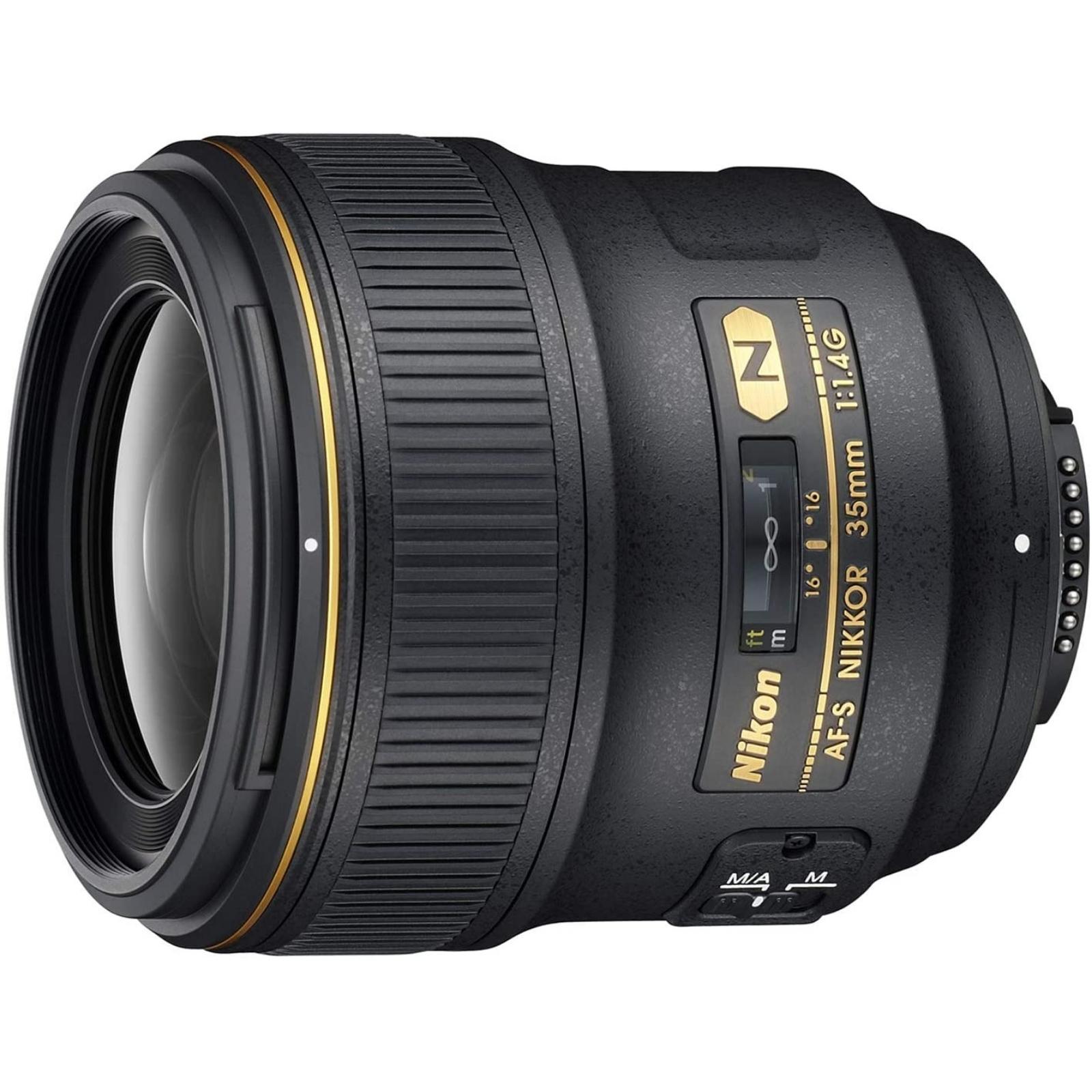 Nikon ニコン 単焦点レンズ AF-S NIKKOR 35mm f/1.4G ブラック 新品(並行輸入品、保証付き)