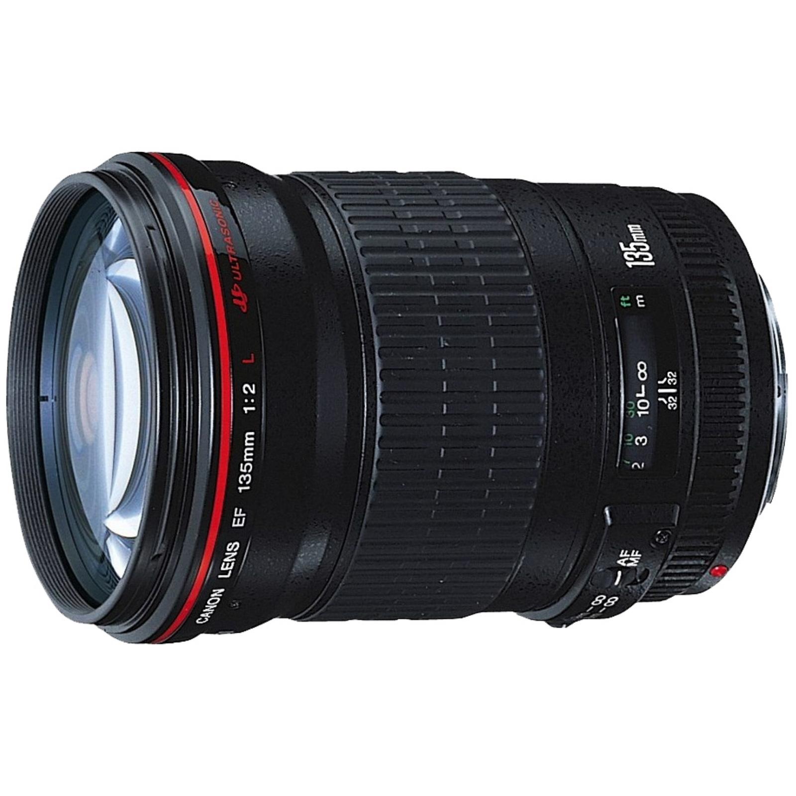 Canon キヤノン 単焦点望遠レンズ EF135mm F2L USM ブラック EF13520L 新品 (並行輸入品、保証付き)