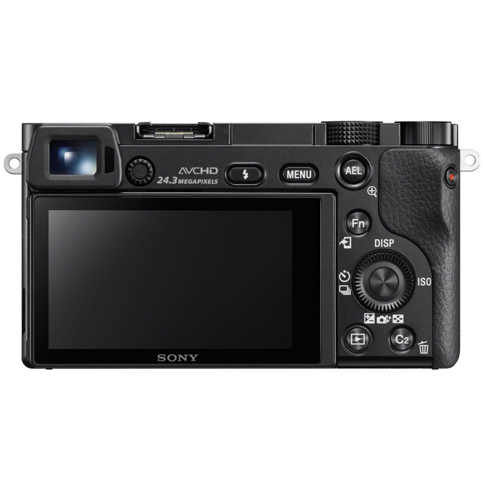 SONY ソニー ミラーレス一眼カメラ α6000 パワーズームレンズキット ブラック ILCE-6000L-B 新品