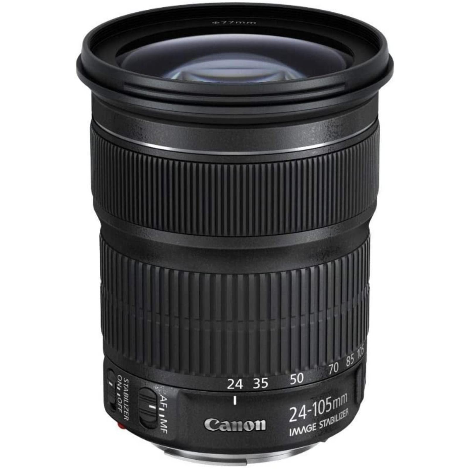 Canon キヤノン 標準ズームレンズ EF24-105mm F3.5-.5.6 IS STM ブラック 新品