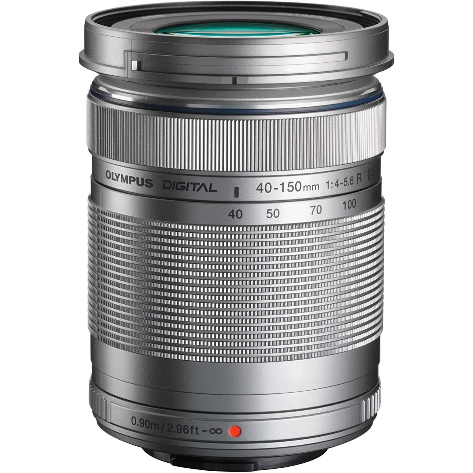 OLYMPUS オリンパス 望遠ズームレンズ M.ZUIKO DIGITAL ED 40-150mm F4.0-5.6 R シルバー 新品 (簡易箱)