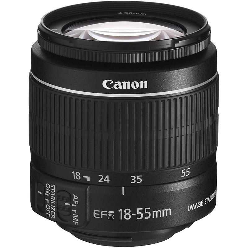 Canon キヤノン 標準ズームレンズ EF-S18-55mm F3.5-.5.6 IS II APS-C対応 新品 (簡易箱)