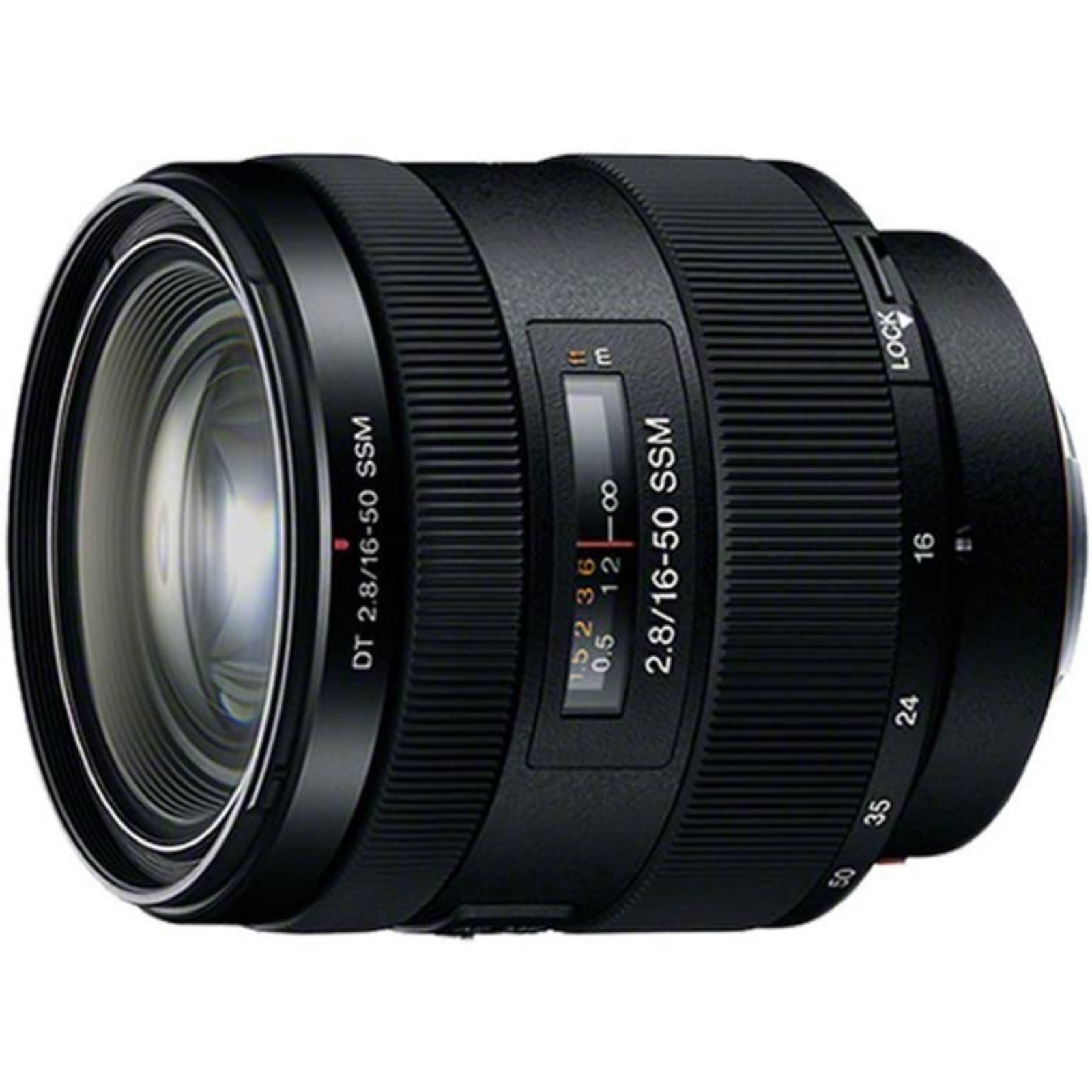 SONY ソニー 標準ズームレンズ DT 16-50mm F2.8 SSM ブラック SAL1650 新品 (簡易箱)