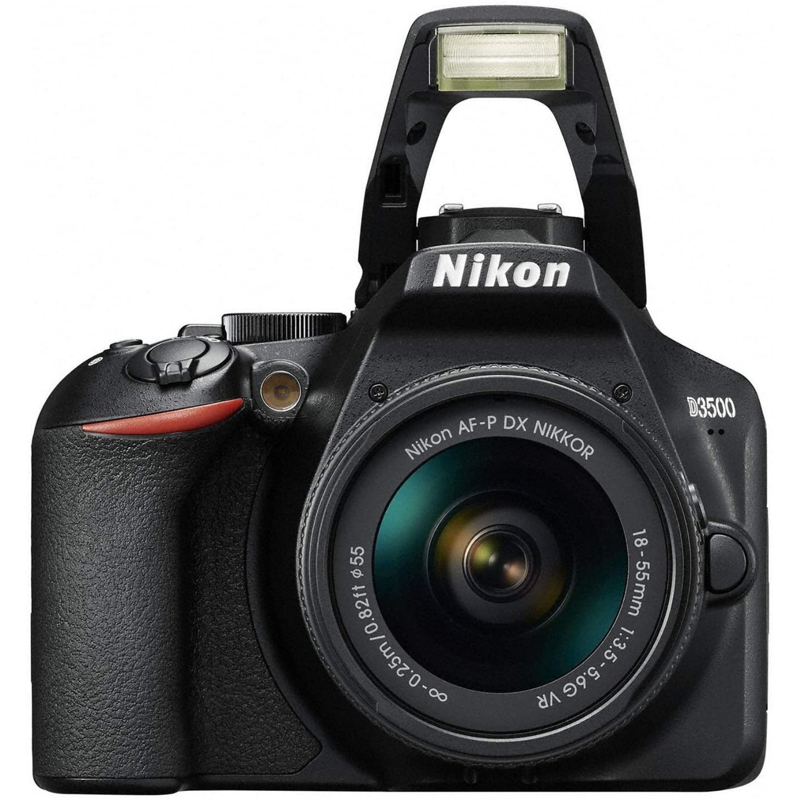 Nikon ニコン デジタル一眼レフカメラ D3500 AF-P 18-55 VR レンズキット ブラック 新品