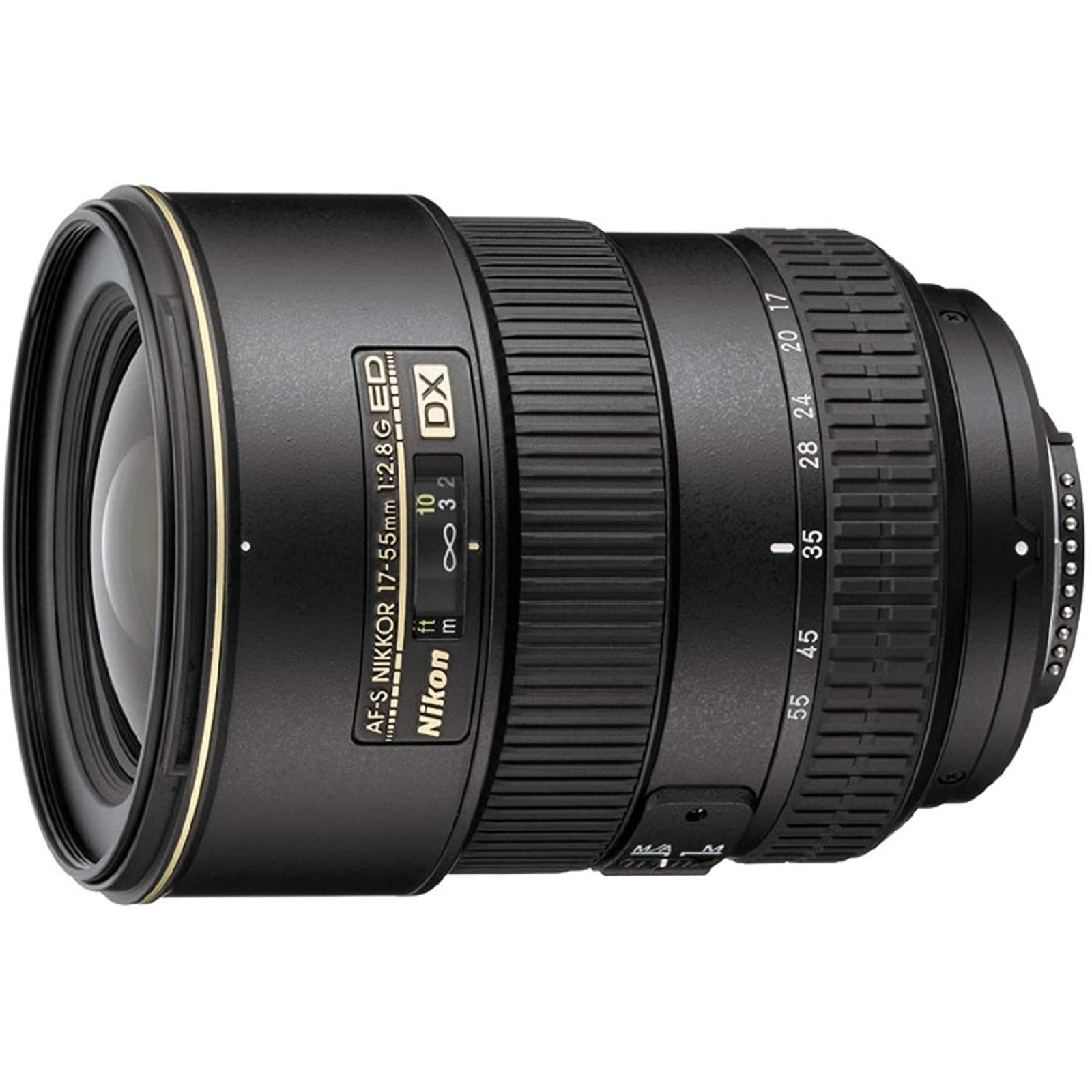 Nikon ニコン 標準ズームレンズ AF-S DX Zoom Nikkor 17-55mm f/2.8G IF-ED ブラック 新品