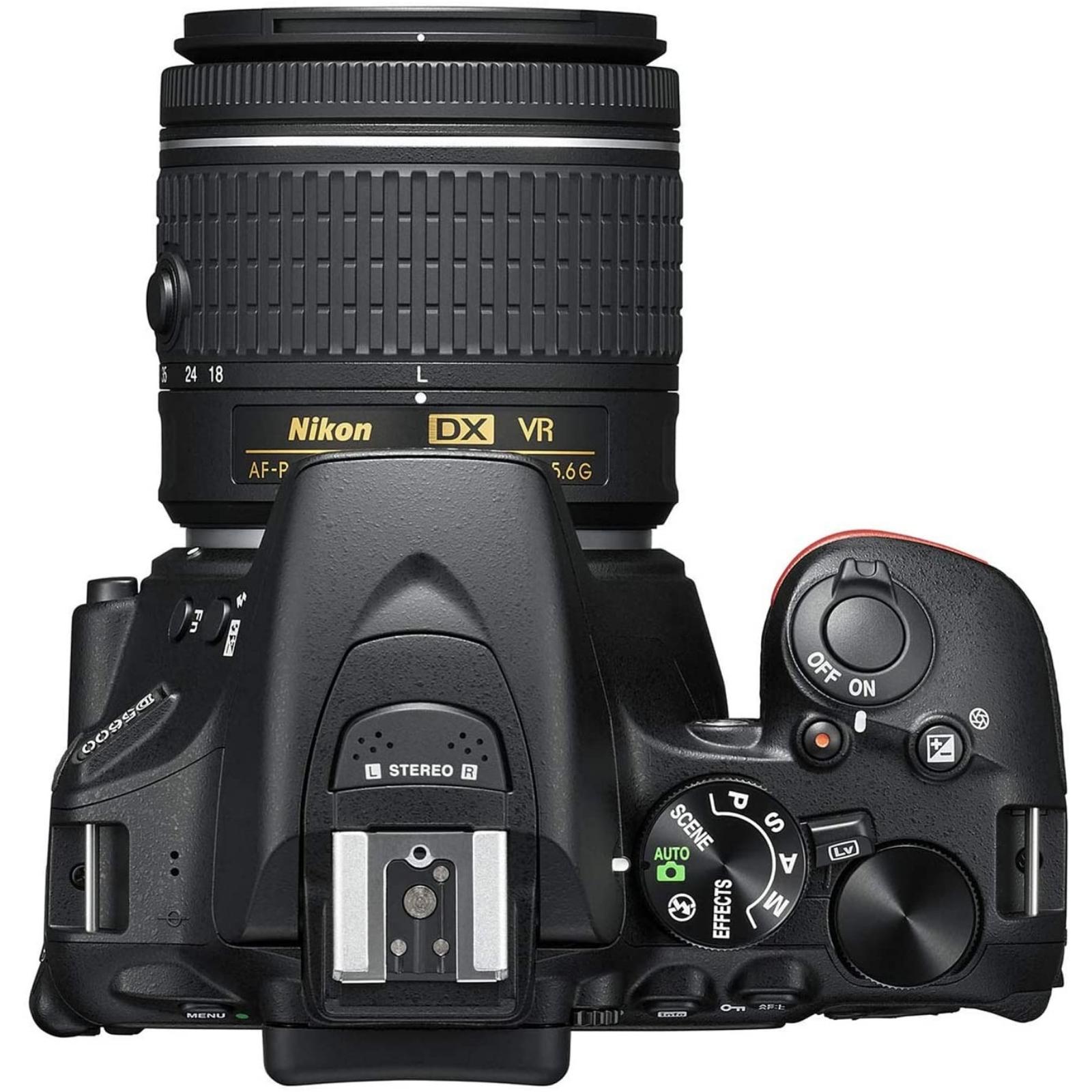 Nikon ニコン デジタル一眼レフカメラ D5600 AF-P 18-55 VR レンズキット ブラック 新品