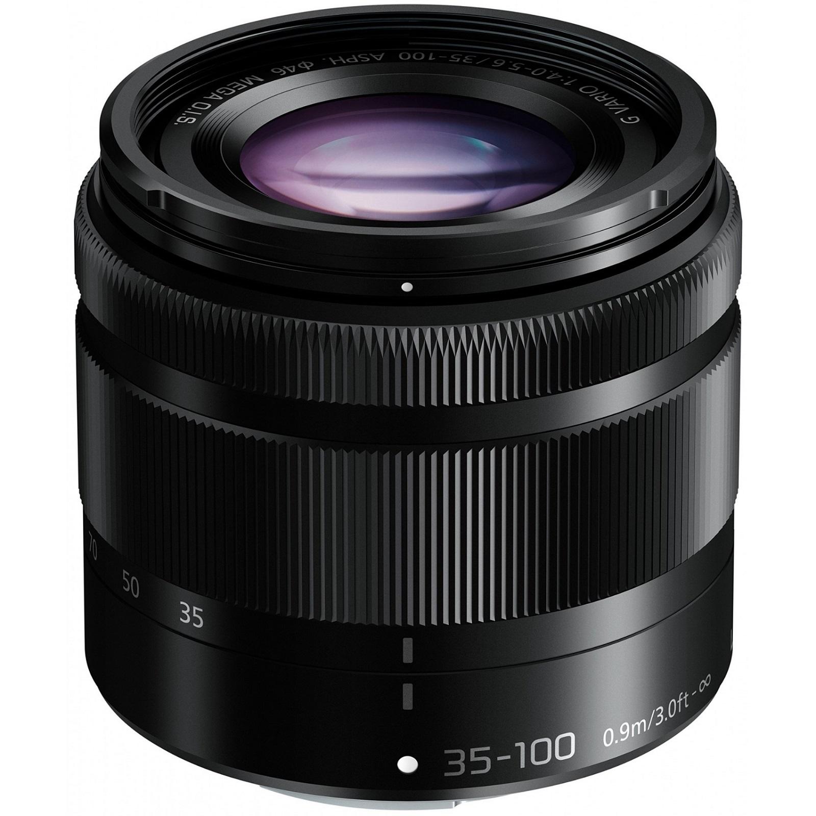 Panasonic パナソニック ルミックス G VARIO 35-100mm F4.0-5.6 ASPH./MEGA O.I.S. ブラック 新品 (簡易箱)