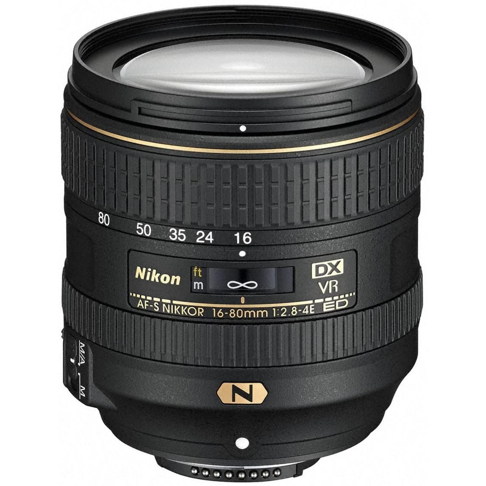 Nikon ニコン 標準ズームレンズ AF-S DX NIKKOR 16-80mm f/2.8-4E ED VR 新品 (簡易箱)