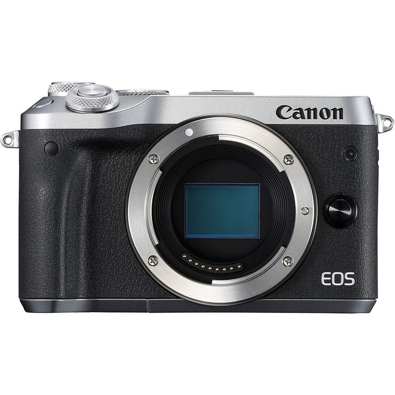 Canon キヤノン ミラーレス一眼カメラ EOS M6 ボディー シルバー 新品