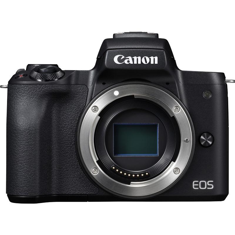 Canon キヤノン ミラーレス一眼カメラ EOS Kiss M ボディ ブラック 新品