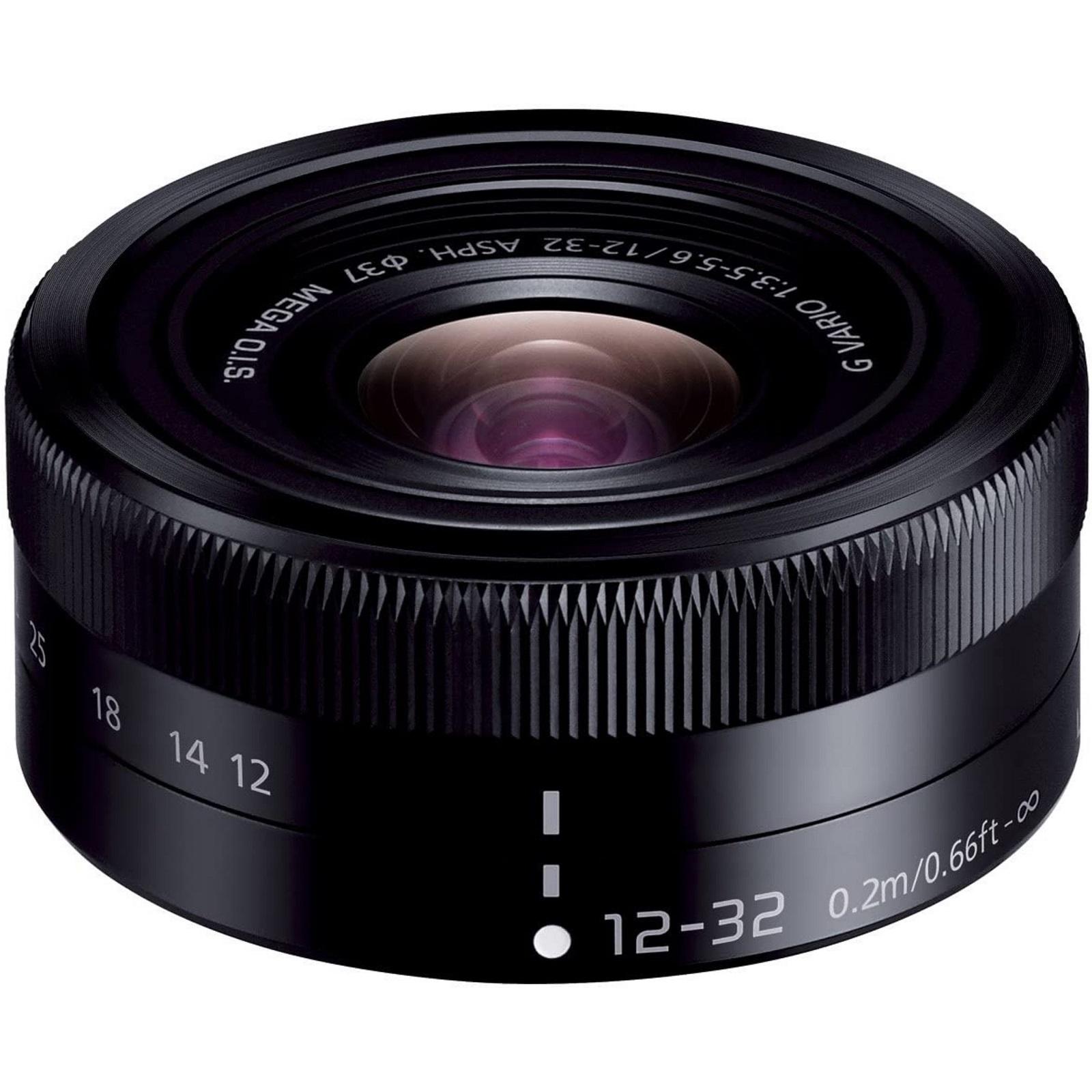 Panasonic パナソニック ルミックス G VARIO 12-32mm F3.5-5.6 ASPH./MEGA O.I.S. ブラック 新品 (簡易箱)