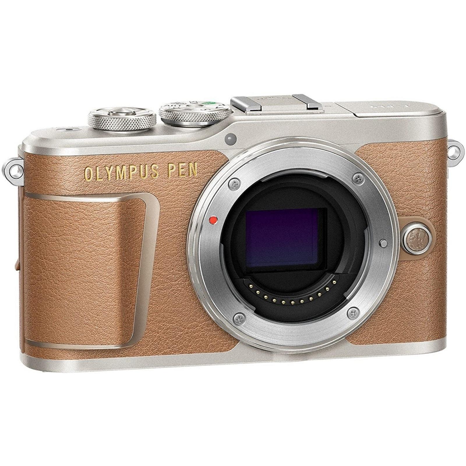 OLYMPUS オリンパス ミラーレス一眼カメラ PEN E-PL9 ボディー ブラウン 新品
