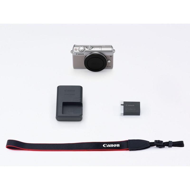 Canon キヤノン ミラーレス一眼カメラ EOS M100 ボディー グレー EOSM100GY-BODY 新品