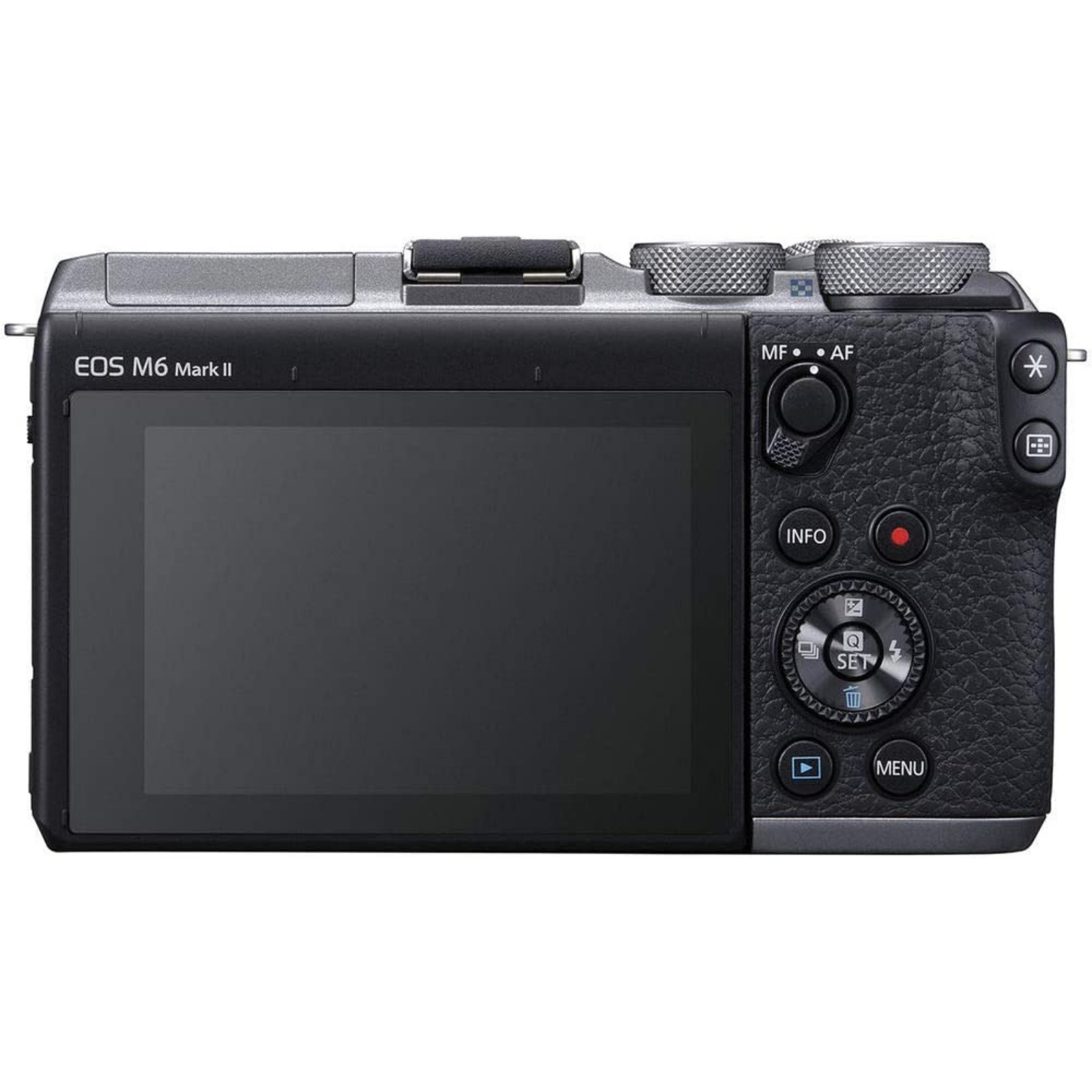 Canon キヤノン ミラーレス一眼カメラ EOS M6 Mark II ボディー シルバー 新品
