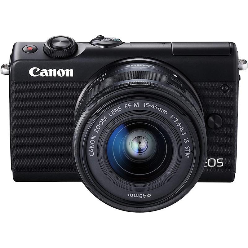 Canon キヤノン ミラーレス一眼カメラ EOS M100 EF-M15-45 IS STM レンズキット ブラック 新品
