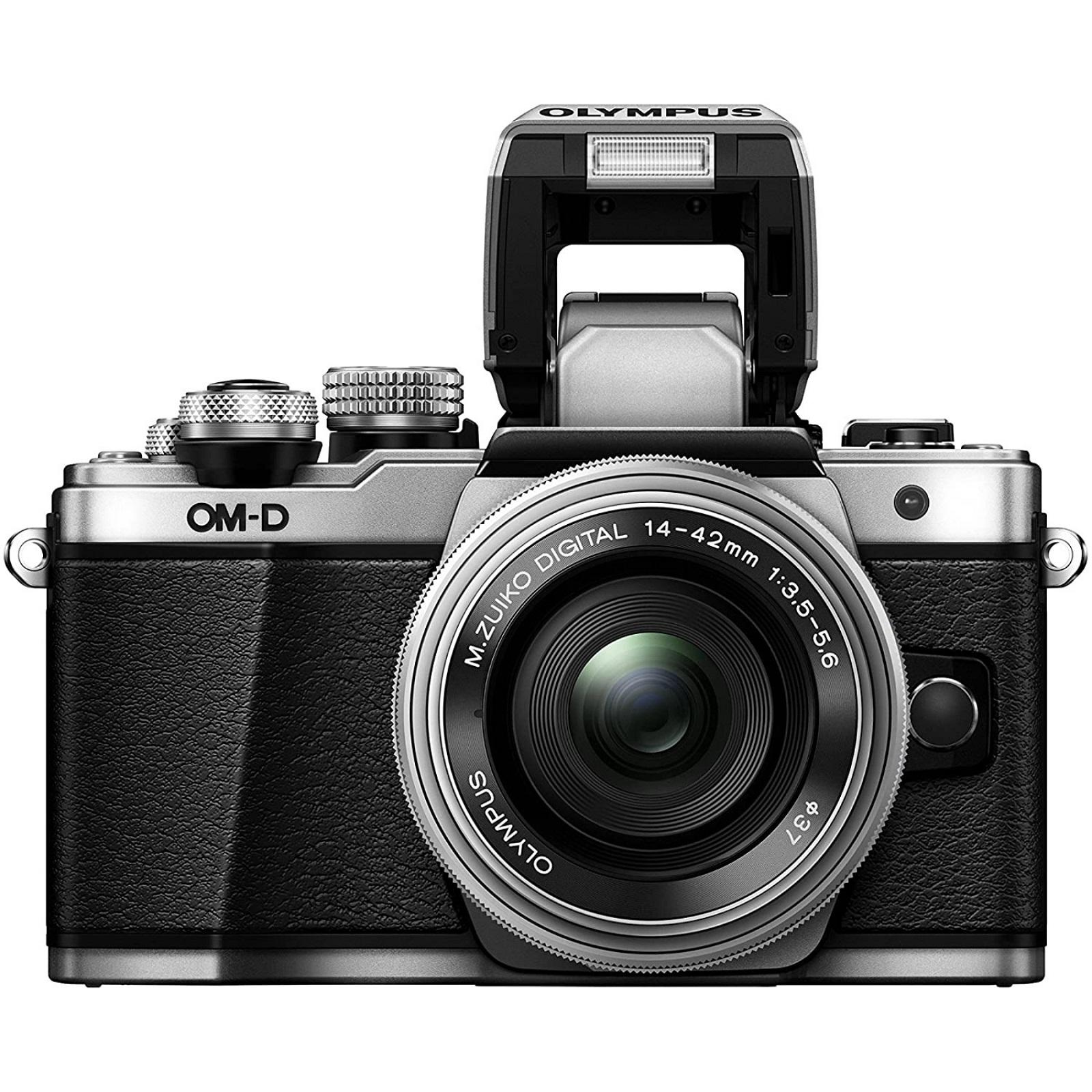 OLYMPUS オリンパス ミラーレス一眼 OM-D E-M10 MarkII 14-42mm EZレンズキット シルバー 新品