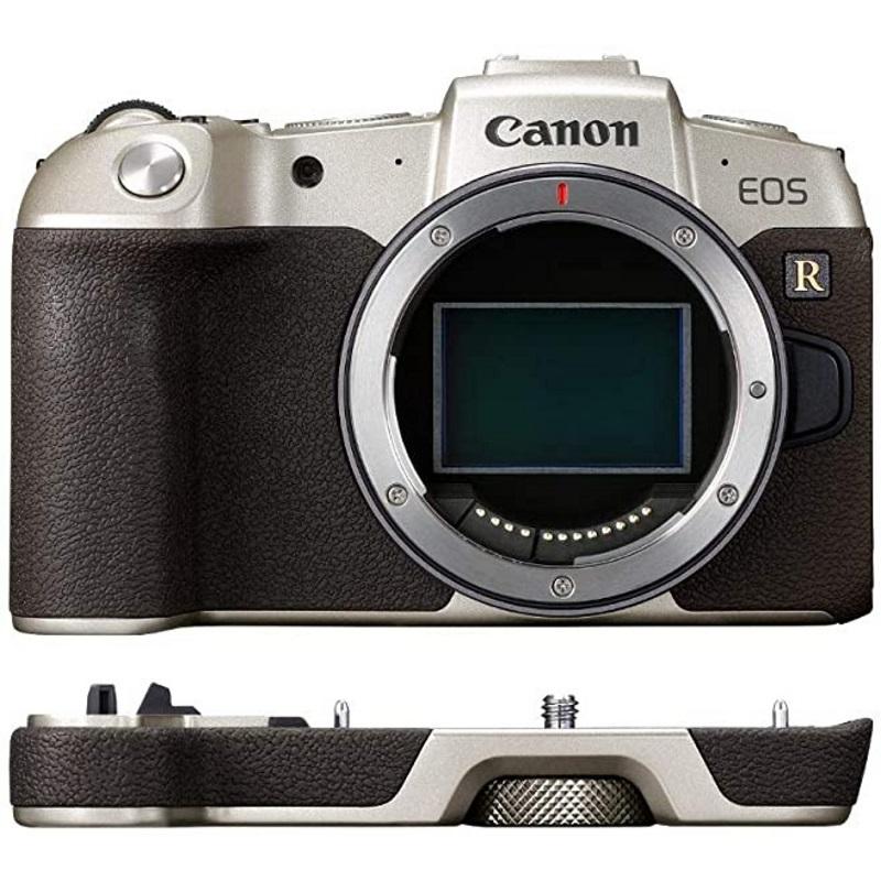 Canon キヤノン ミラーレス一眼カメラ EOS RP ボディ ゴールド + エクステンショングリップ EG-E1 ゴールド セット 新品