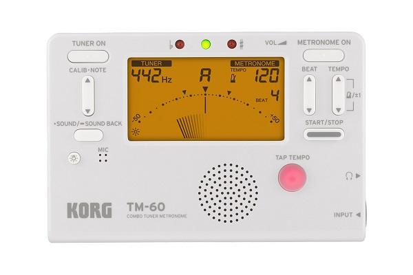 [KORG] メトロノームチューナー(TM-60)