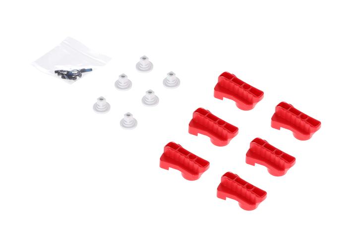 DJI Matrice 600 シリーズ(マトリス600) - Red Rotatable Clamp Kit