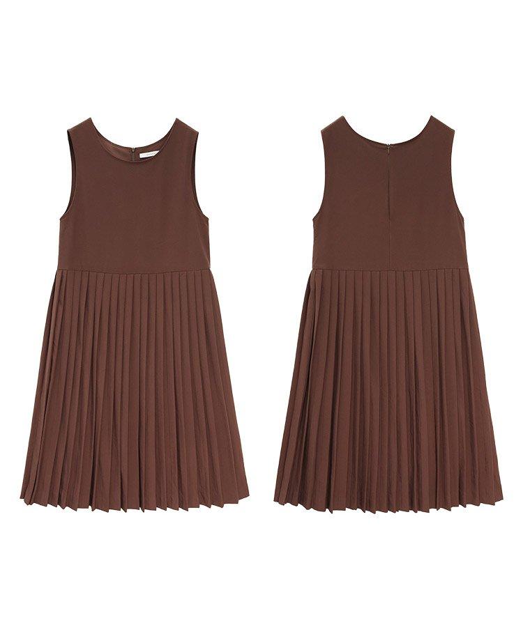 【即納】【なえなのさん、ももちさん着用】ウエスト切り替えジャンパープリーツスカート