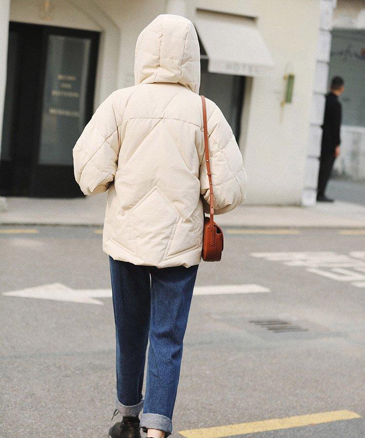 【なえなのさん・ふてこさん着用】ショートダウンコート