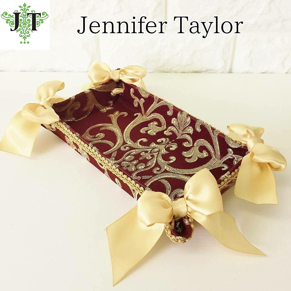 ジェニファーテイラー Jennifer Taylor トレイ Poinsettia/RE(ポインセチアレッド)