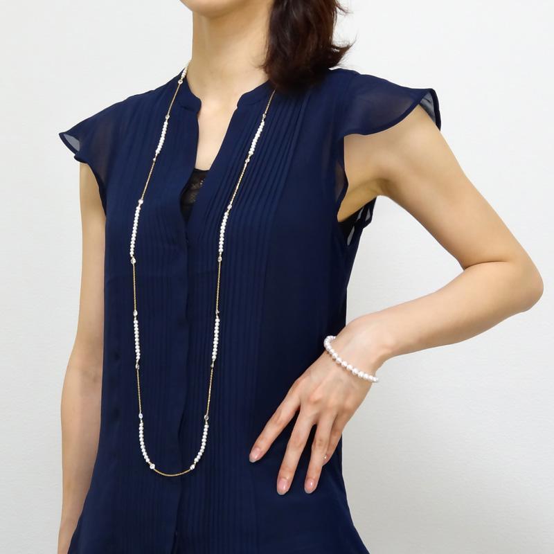 【So Fine Pearl】18金・高級パールブレスレット