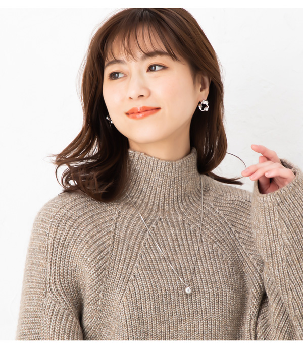 【4月下旬予約商品】 18Kコーティングメタルボールネックレス