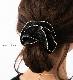 【ネコポス送料無料】 シュシュ ヘアアクセ ヘアゴム ヘアアクセサリー 無地 ゴールド プリーツ シンプル まとめ髪 ヘアアレンジ ブラック ネイビー ブラウン ベージュ ホワイト 女性 レディース