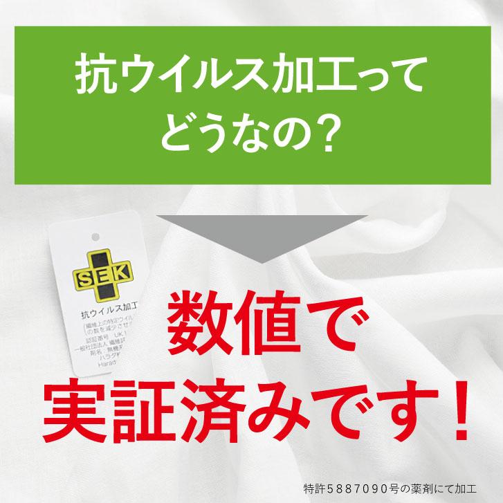 抗ウイルス加工ダブルガーゼ  [ 生地巾110cm/約50cm単位/白/無地] SEKマーク Wガーゼ 綿100% 手作りマスク 材料 (日本製) 商用利用可 メール便送料無料