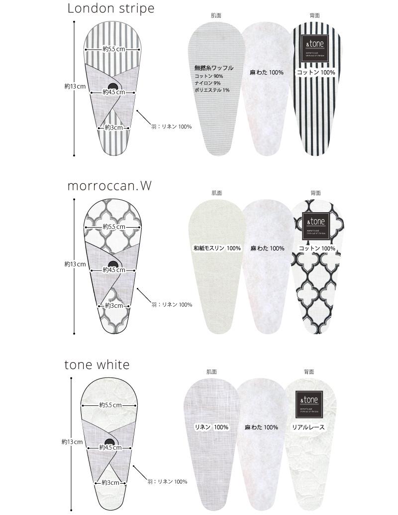 &tone 布ナプキン Tバックおりものライナー ホワイトシリーズ 1枚 [おりもの用 / 19cm / スマイルコットン/和紙モスリン/リネン] 麻わた (日本製) JEWLINGE