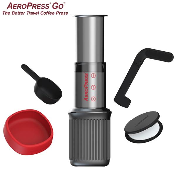 AeroPress Go エアロプレス・ゴー コーヒー抽出器具 コーヒーメーカー コーヒードリッパー コンパクト キャンプ アウトドア 旅行