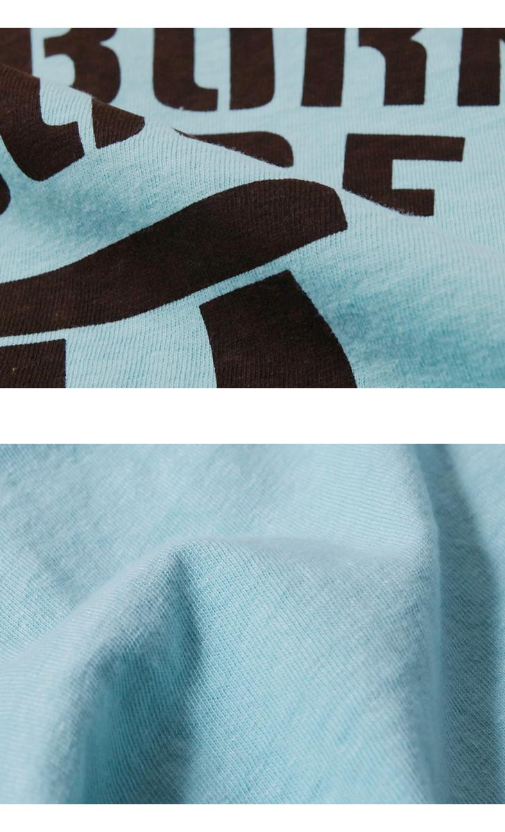 ダブルワークス DUBBLEWORKS [DEARBORN] ワンボタンヘンリーネック プリントTシャツ 33004