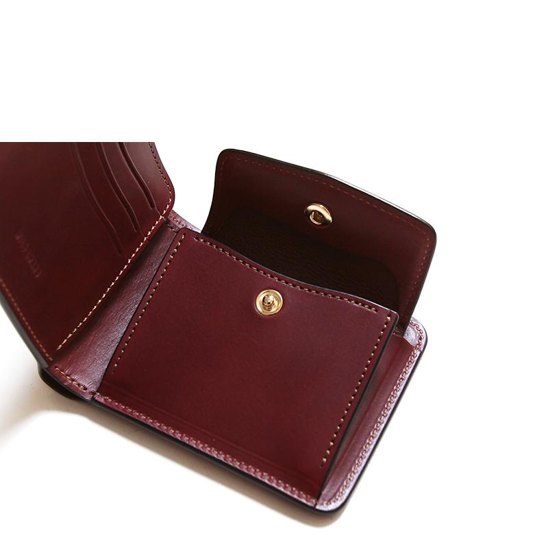 WILDSWANS ワイルドスワンズ GROUNDER グラウンダー イングリッシュブライドル 二つ折り財布 ウォレット