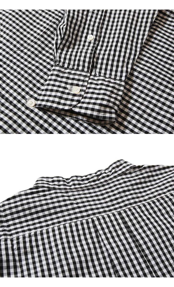マニュアルアルファベット MANUAL ALPHABET 100双ブロード バンドカラーシャツ Bulging Fit バルジングフィット BASIC-BG-015