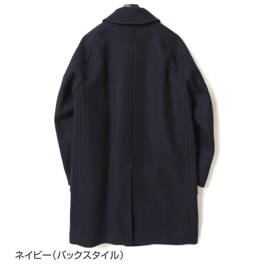 KAPTAIN SUNSHINE キャプテンサンシャイン Traveller Coat トラベラーコート KS21FCO01 メルトン ウール メンズ 2021年秋冬