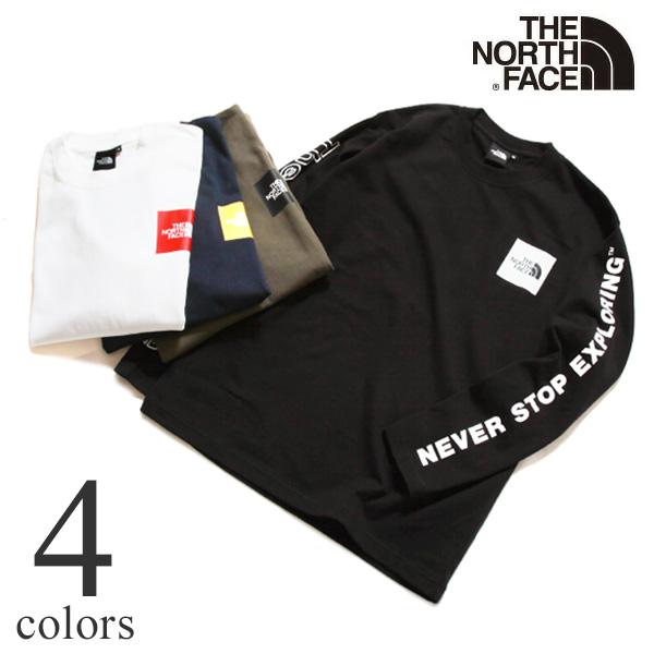 THE NORTH FACE ザ ノースフェイス ロングスリーブグラフィックティー 長袖Tシャツ ロンT NT32042