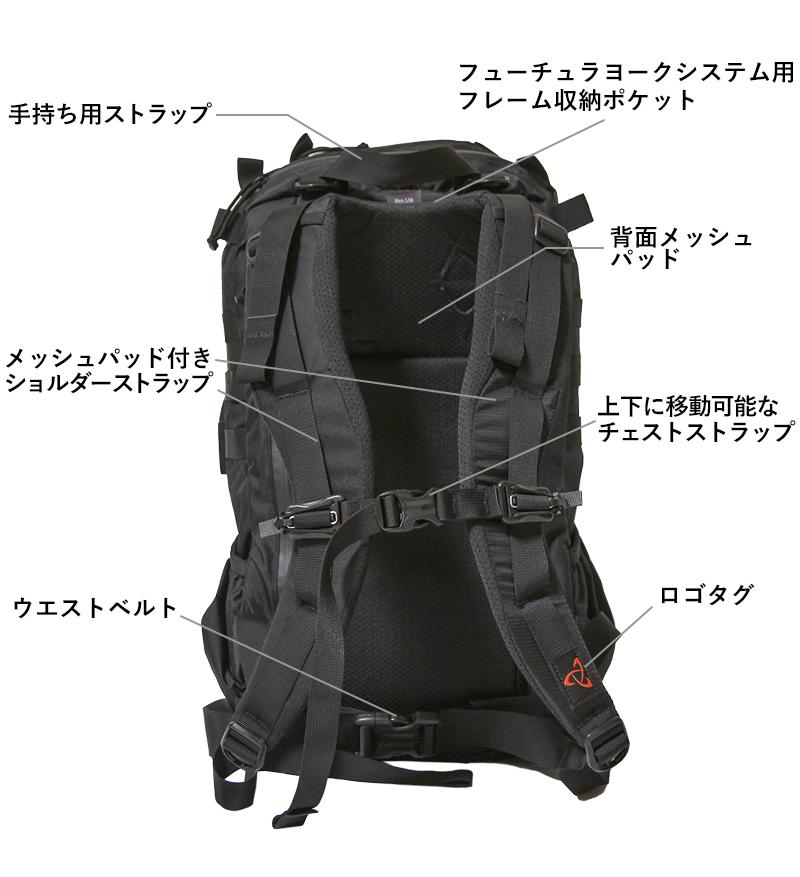 ミステリーランチ 2デイアサルト クレイジーブラックコレクション MYSTERY RANCH 2DAY ASSAULT CRAZY BLACK COLLECTION 日本限定モデル リュック バックパック