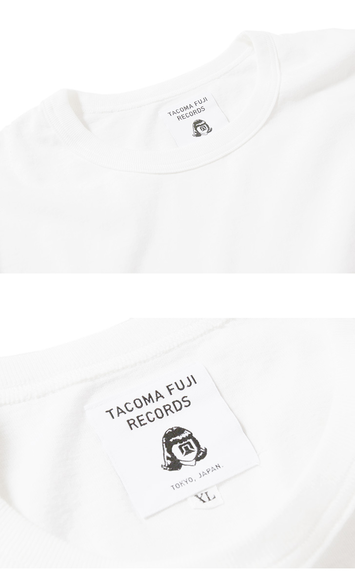 Tacoma Fuji Records タコマフジレコード ロングスリーブTシャツ ロンT TACOMA FUJI HANDWRITING LOGO / HAPPY HOUR DRINKING TEAM / FREE FEELING