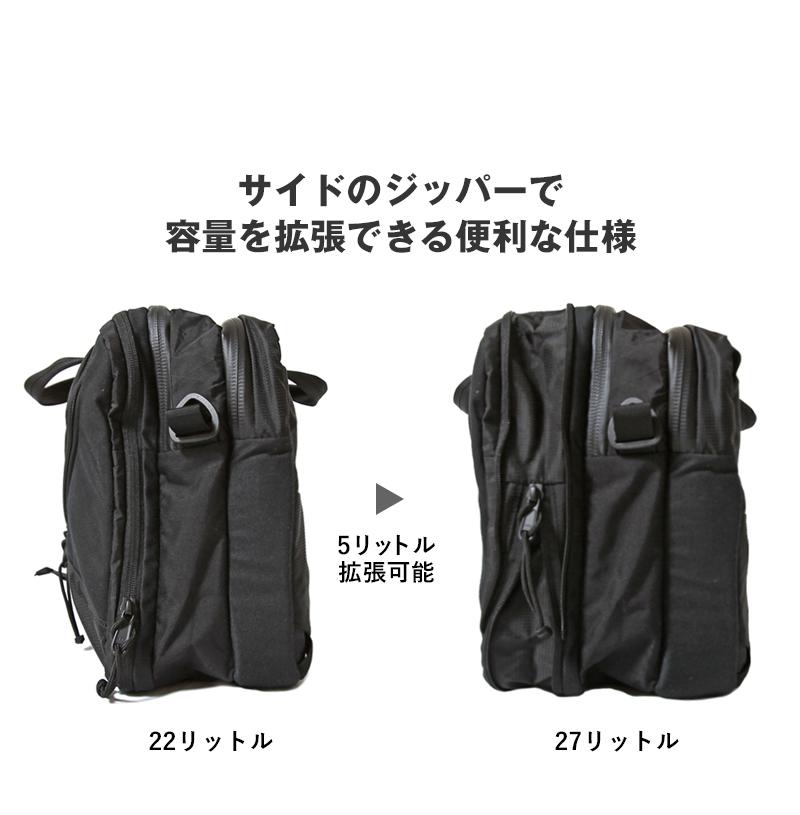 ミステリーランチ 3-WAY クレイジーブラックコレクション MYSTERY RANCH 3WAY CRAZY BLACK COLLECTION 日本限定モデル