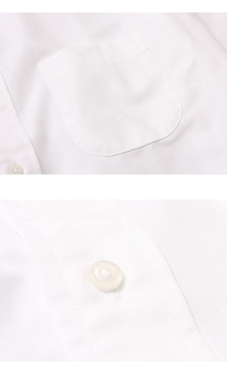 INDIVIDUALIZED SHIRTS インディビジュアライズドシャツ ケンブリッジオックスフォード スタンダードフィット ボタンダウンシャツ ホワイト