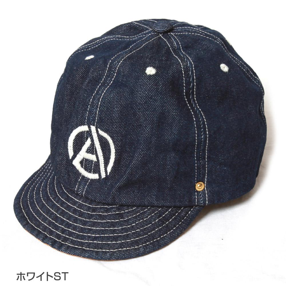 DECHO×ANACHRONORM EMB DENIM BALL CAP デコー×アナクロノーム EMBデニムボールキャップ 帽子 ANDC-074